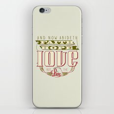 The Greatest of These Is Love (Color Variant)  iPhone & iPod Skin