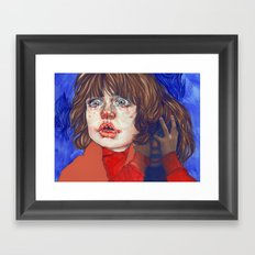 shining danny Framed Art Print