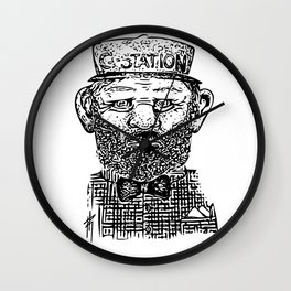 The Employee Of The Year Wall Clock