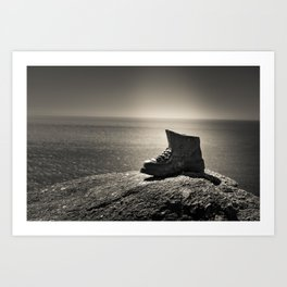 Boot - Cliff - Booty Art Print
