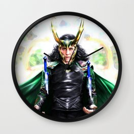Loki - Ragnarok IV Wall Clock