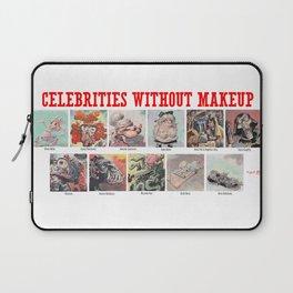 Celebrities Without Makeup Laptop Sleeve