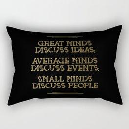 Great Minds Rectangular Pillow