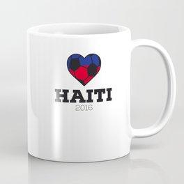 Haiti Soccer Shirt 2016 Coffee Mug