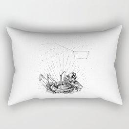 Magical Smoked Quartz Rectangular Pillow