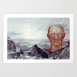 Land of Discovery Art Print
