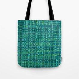 Hipster Plaid Tote Bag