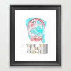 DEATH BECOMES U Framed Art Print