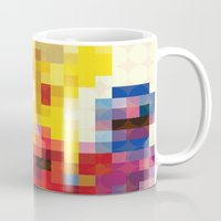 sesame street Mugs featuring Sesame by Glen Gould
