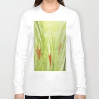 flora Long Sleeve T-shirts featuring flora by Louisa Stickney-Keats