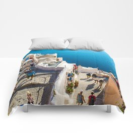 Oia,Santorini Comforters