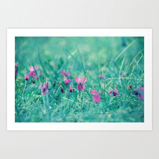 spring whispers Art Print