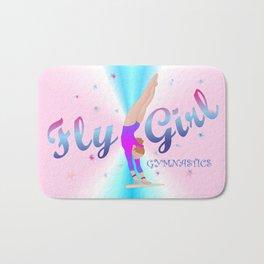 Gymnastics - Fly Girl on Unevn Bars - 2 Bath Mat
