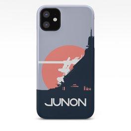 Final Fantasy VII - Visit Junon Propaganda Poster iPhone Case