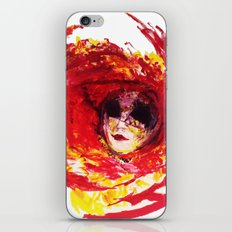 Painting - Venetian Mask iPhone & iPod Skin