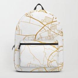 AARHUS DENMARK CITY STREET MAP ART Backpack