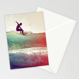Danse avec les vagues Stationery Cards
