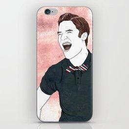 Blaine Warbler iPhone Skin