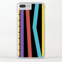 Test Strip Clear iPhone Case