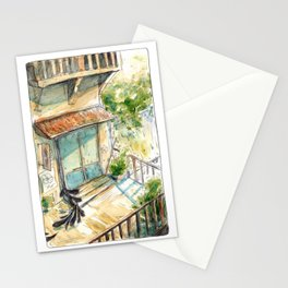 Kettle's Home and Shop - Parsley Merlin and Beatrice Page Stationery Cards