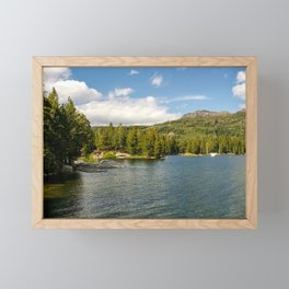 Caples Lake, Eldorado National Forest, California Framed Mini Art Print
