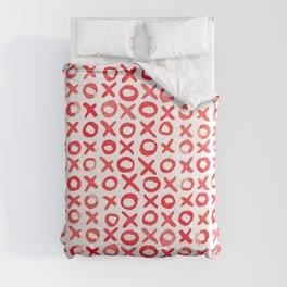 Xoxo valentine's day - red Comforters