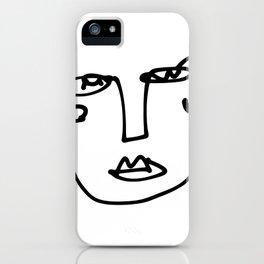 Faces Collection - Franca iPhone Case