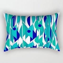 Abstrakt Flames Rectangular Pillow