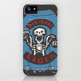 Die Hard Lager iPhone Case