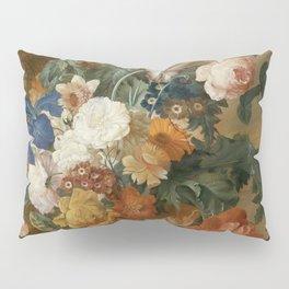 """Mélanie de Comolera after Jan van Huysum """"Still Life of Flowers"""" Pillow Sham"""