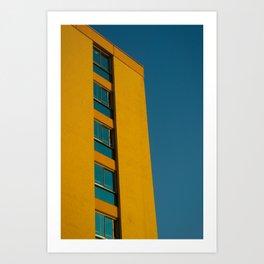 Towering Gold Art Print