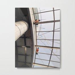 Pekerja Atas Metal Print