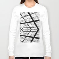 san diego Long Sleeve T-shirts featuring San Diego library by eightjay