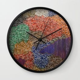 10,000 Leaves Wall Clock