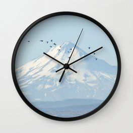 """Shasta"" by Murray Bolesta! Wall Clock"