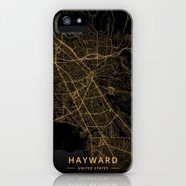 Hayward, United States - Gold iPhone Case