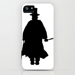 Jack the Ripper Silhouette iPhone Case
