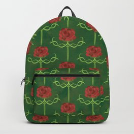 Spring Roses Pattern Backpack