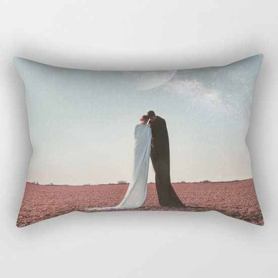 Living under the stars Rectangular Pillow