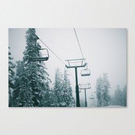 Ski Lift II Canvas Print