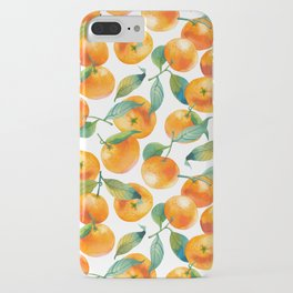 Mandarins With Leaves iPhone Case