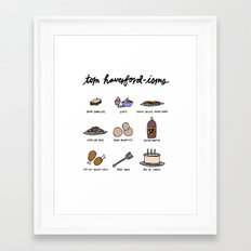 Tom Haverfordisms Framed Art Print