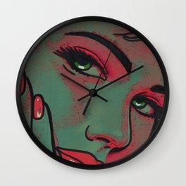 Red light Wall Clock