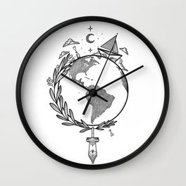 Let's make our story Wall Clock