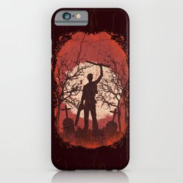 Ash Graves iPhone Case