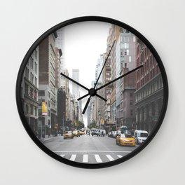 Urban Adventure NYC Wall Clock