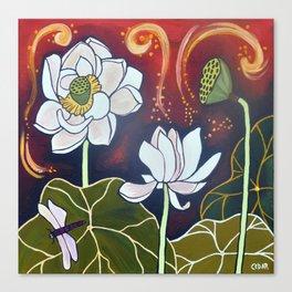 Lotus XX Canvas Print