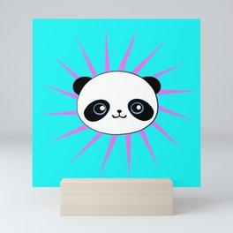 Wild Rockstar Panda Mini Art Print