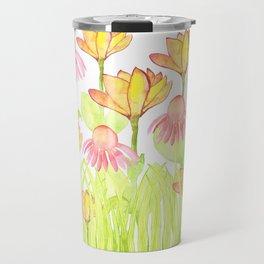 Field of Flowers Travel Mug