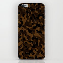 Brown Camouflage iPhone Skin